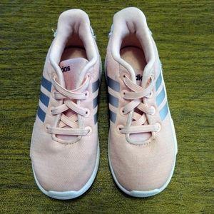 Adidas pink girls shoes